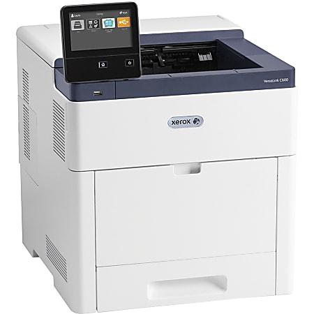 Xerox VersaLink C600 C600/DNM Desktop LED Printer - Color - 55 ppm Mono / 55 ppm Color - 1200 x 2400 dpi Print - Automatic Duplex Print - 700 Sheets Input - Ethernet - 120000 Pages Duty Cycle