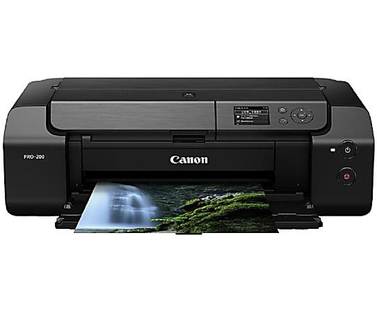 Canon® PIXMA™ PRO-200 Professional Wireless Color Inkjet Photo Printer