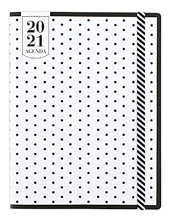 """See Jane Work® 24-Month Monthly Pocket Planner, 3-1/2"""" x 6"""", Black/White, January 2021 To December 2022, SJ109-021-21"""