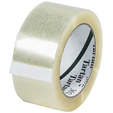 "3M Tartan™ 302 Carton Sealing Tape, 3"" Core, 2"" x 110 Yd., Clear, Case Of 6"