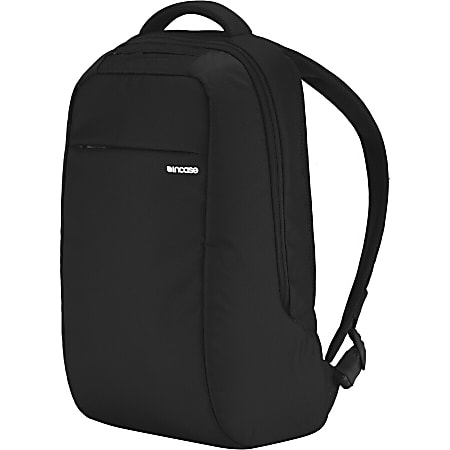 "Incase ICON Carrying Case (Backpack) for 15"" MacBook Pro - Black - 840D Nylon - Shoulder Strap, Handle - 19"" Height x 12"" Width x 6.5"" Depth"