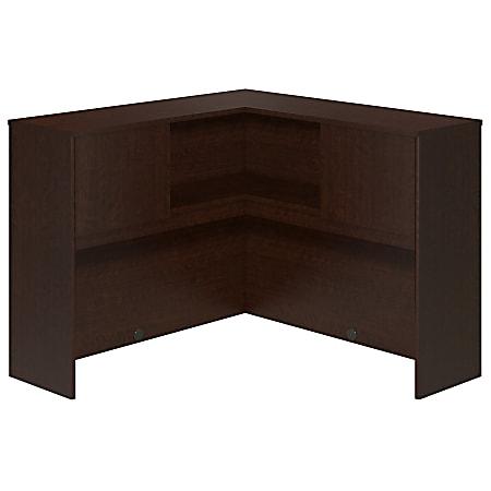 "Bush Business Furniture Components Elite Corner Hutch, 48""W, Mocha Cherry, Standard Delivery"