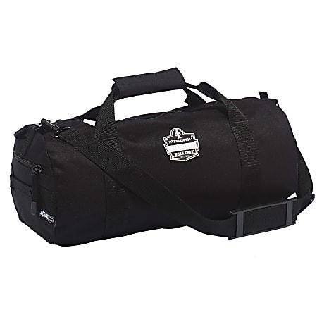 "Ergodyne Arsenal 5020XS Standard Gear Duffel Bag, 9""H x 9""W x 18""D, Black"