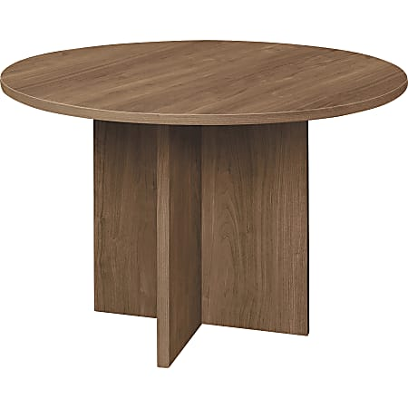 HON® Foundation Round Conference Table, Pinnacle