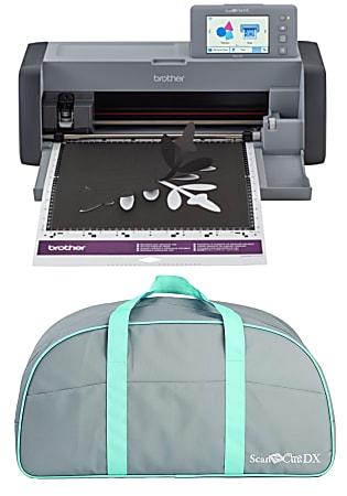 Brother® ScanNCut SDX125E Electronic DIY Cutting Machine, Gray/Titanium