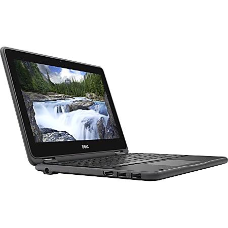 "Dell Latitude 3000 3190 11.6"" Touchscreen 2 in 1 Notebook - HD - 1366 x 768 - Intel Pentium N5030 Quad-core (4 Core) - 4 GB RAM - 128 GB SSD - Windows 10 Pro Education - Intel UHD Graphics 605 - 11 Hour Battery Run Time"
