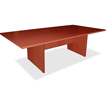 """Lorell® Essentials Conference Rectangle Table Top, 2-Piece, 72""""W, Cherry"""