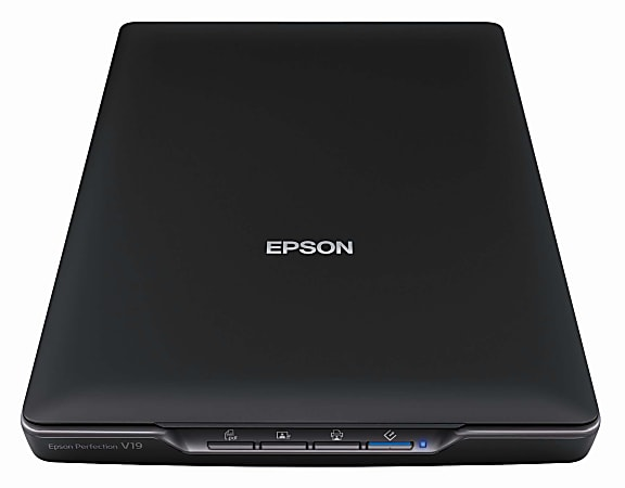 Epson® Perfection® V19 Color Photo Scanner