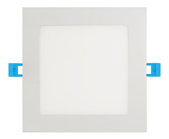 "Euri 5-6"" Square Dimmable Recessed Downlight LED Retrofit Kit, 900 Lumens, 12 Watt, 4000K/ Cool White, 1 Each"