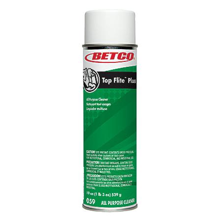 Betco® Top Flite™ Plus All-Purpose Cleaner, Pleasant Scent, 19 Oz Bottle, Case Of 12