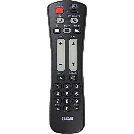 RCA 2 Device Universal Remote - For Satellite Receiver, TV, Cable Box, Convertor Box