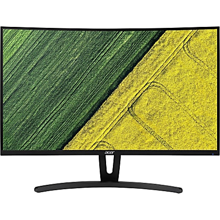 """Acer ED273 27"""" Full HD Curved Screen LED LCD Monitor - 16:9 - Black - 27"""" Class - Vertical Alignment (VA) - 1920 x 1080 - 16.7 Million Colors - FreeSync - 250 Nit - 4 ms - 144 Hz Refresh Rate - DVI - HDMI - DisplayPort"""