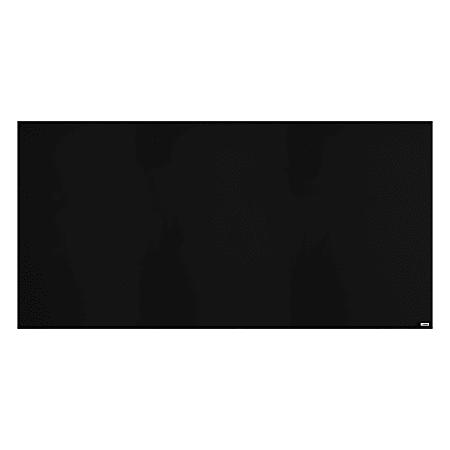 "Lorell® Magnetic Dry-Erase Whiteboard, 48"" x 96"", Black Finish Frame"