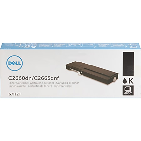Dell Toner Cartridge - Laser - High Yield - 6000 Pages - Black - 1 / Pack
