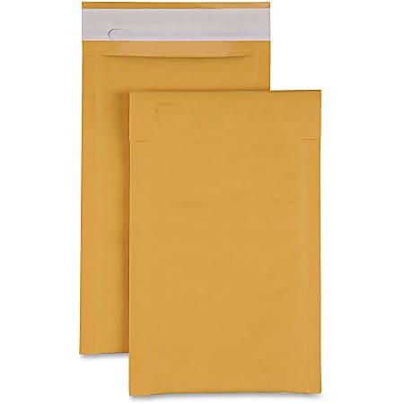 "Sparco Size 0 Bubble Cushioned Mailers - Bubble - #0 - 6"" Width x 10"" Length - Self-sealing - Kraft - 200 / Carton - Kraft"