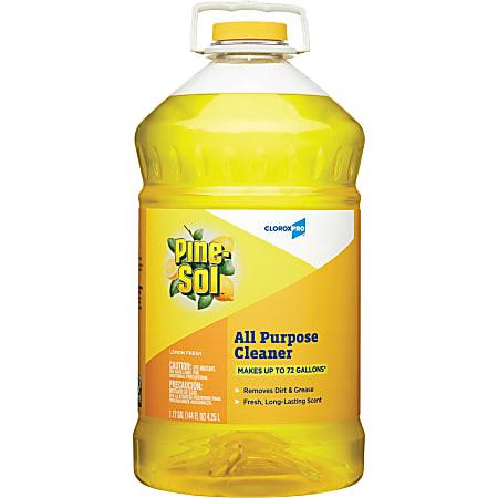 Clorox® Pine Sol® All-Purpose Cleaner, Lemon Fresh Scent, 144 Oz Bottle