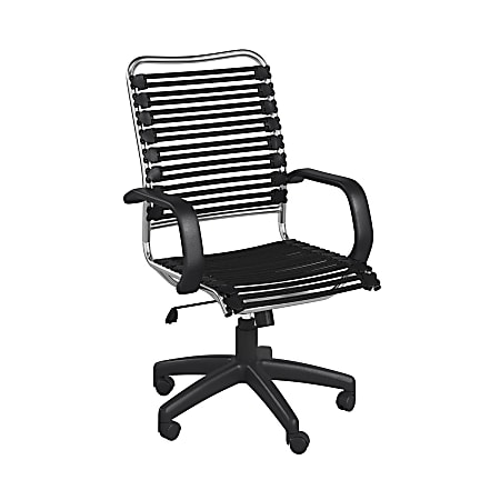 Eurostyle Allison Bungie High-Back Commercial Office Chair, Black