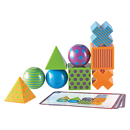 Learning Resources Mental Blox Activity Game - Skill Learning: Critical Thinking, Strategic Thinking, Problem Solving - 5-13 Year - 20 Pieces