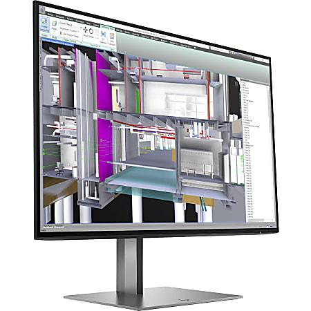 "HP Z24u G3 24"" WUXGA LED LCD Monitor - 16:10 - Turbo Silver - 24"" Class - In-plane Switching (IPS) Technology - 1920 x 1200 - 350 Nit Typical - 5 ms GTG (OD) - 60 Hz Refresh Rate - HDMI - DisplayPort - USB Hub"