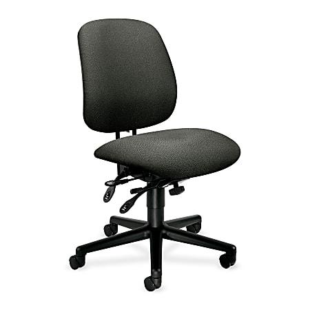 HON® 7700-Series High-Performance Task Chair, Gray/Black