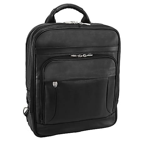 "McKleinUSA® Wicker Park Detachable-Wheeled 3-Way Backpack With 15.6"" Laptop Pocket, Black"