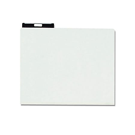 Smead® Blank Pressboard File Guides With Metal Tab, Letter Size, 60% Recycled, Gray/Green, Box Of 25