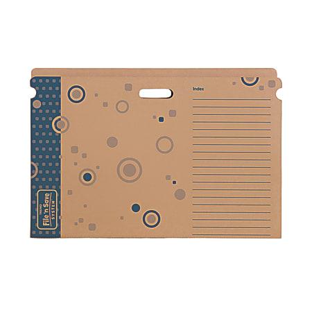 TREND File 'N Save System® Bulletin Board Sturdy Folder, Pack Of 6