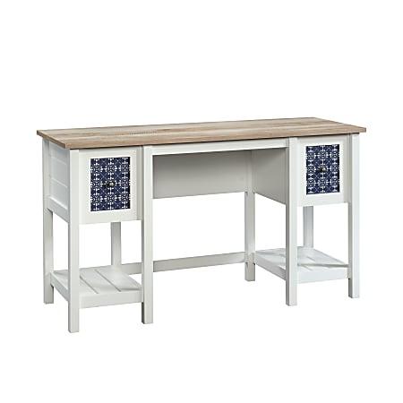 "Sauder® Cottage Road Desk, 54""W, Soft White"