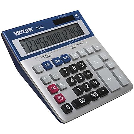 Victor 6700 Extra-Large Desktop Calculator