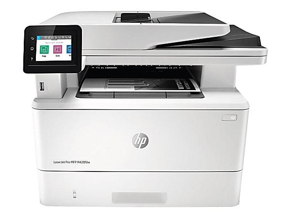 HP LaserJet Pro MFP M428fdw Wireless Monochrome (Black And White) Laser All-In-One Printer