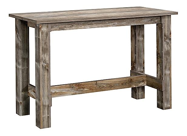 Sauder® Boone Mountain Counter-Height Table, Rustic Cedar