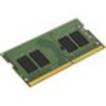 Kingston ValueRAM - DDR4 - module - 8 GB - SO-DIMM 260-pin - 3200 MHz / PC4-25600 - CL22 - 1.2 V - unbuffered - non-ECC