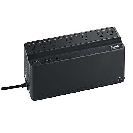 APC® Back-UPS® BVN650M1 Battery Backup, Black