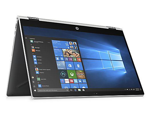 """HP Pavilion x360 15-cr0055od Convertible 2-In-1 Laptop, 15.6"""" Touch Screen, Intel® Core™ i5, 8GB Memory, 256GB Solid State Drive, Windows® 10, 5LN68UA#ABA"""