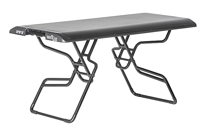 """VariDesk Laptop 30 Standing Desk, 15""""H x 30""""W x 15""""D, Black"""