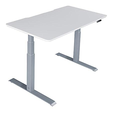 "Vari Electric Standing Desk, 60""W, White"