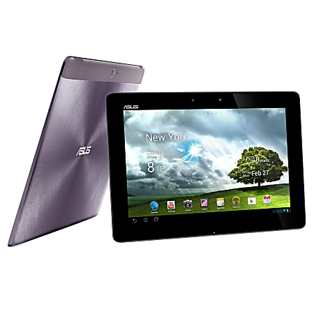 """ASUS® Transformer Pad Infinity TF700T Tablet, 10.1"""" Screen, 32GB Storage, Android 4.0 Ice Cream Sandwich, Gray"""