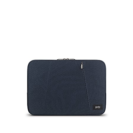 """Solo® Oswald Computer Sleeve For 13.3"""" Laptops/Tablets, Blue, SLV1613-5"""