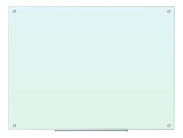 """U Brands Unframed Magnetic Dry-Erase Whiteboard, 36"""" x 48"""", Frosted White"""
