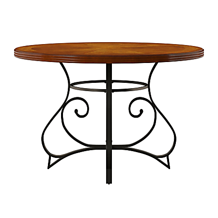 """Powell Neville Dining Table, 30"""" x 45"""", Cherry"""