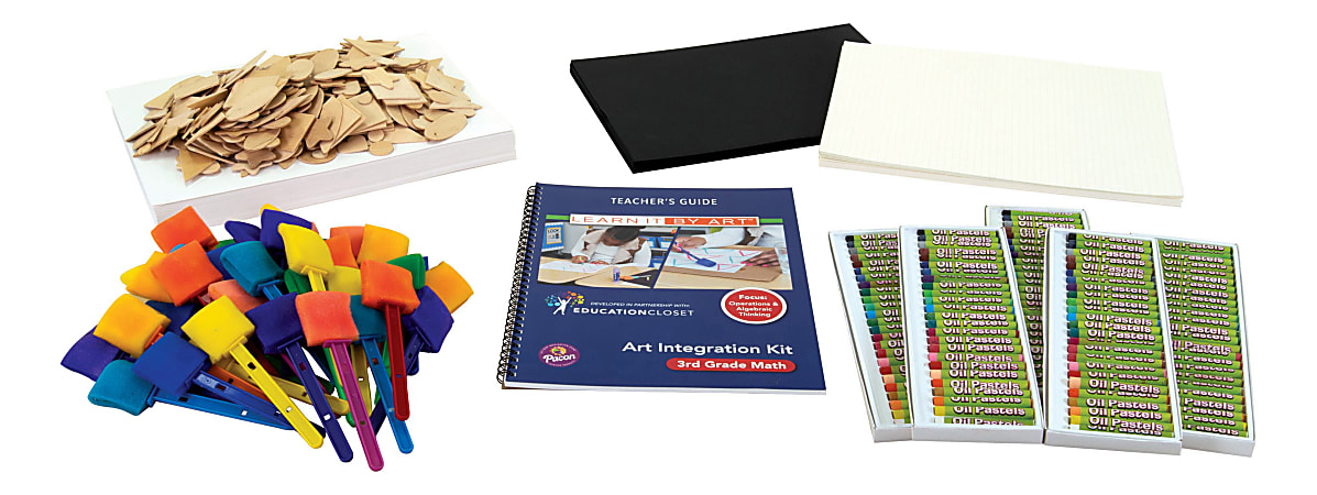 Pacon® EducationCloset Math Art Integration Kit, Grade 3
