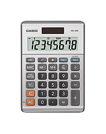 Casio® MS-80B Desktop Calculator