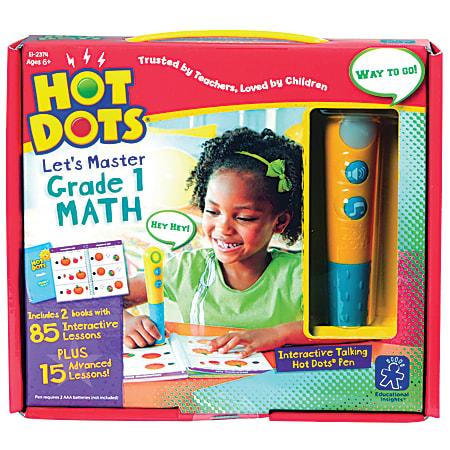 Educational Insights Hot Dots Let's Master Grade 1 Math