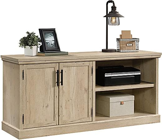 "Sauder® Aspen Post 65""W Credenza Desk, Prime Oak"