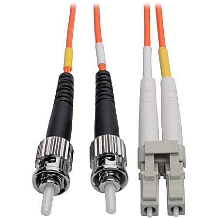 Tripp Lite 10M Duplex Multimode 62.5/125 Fiber Optic Patch Cable LC/ST 33' 33ft 10 Meter - LC Male - ST Male - 32.81ft - Orange