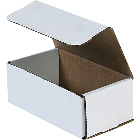 """Office Depot® Brand 15"""" Corrugated Mailers, 5""""H x 7""""W x 15""""D, White, Pack Of 50"""