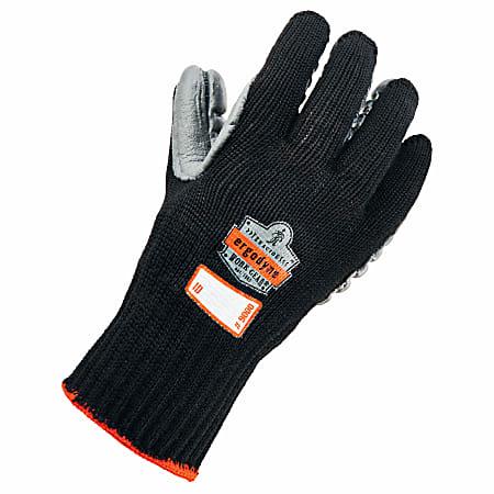 Ergodyne ProFlex 9000 Certified Lightweight Anti-Vibration Gloves, X-Large, Black