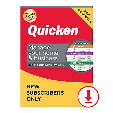 Quicken Home & Business 2021 (Windows)
