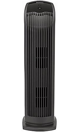 "Holmes® HEPA-Type Tower Medium Room Air Purifier, 188 Sq. Ft. Coverage, 27""H x 7-5/8""W x 9-13/16""D, Black"
