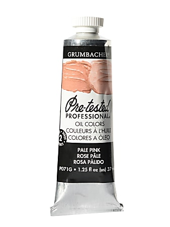 Grumbacher P071 Pre-Tested Artists' Oil Colors, 1.25 Oz, Flesh Hue, Pack Of 2